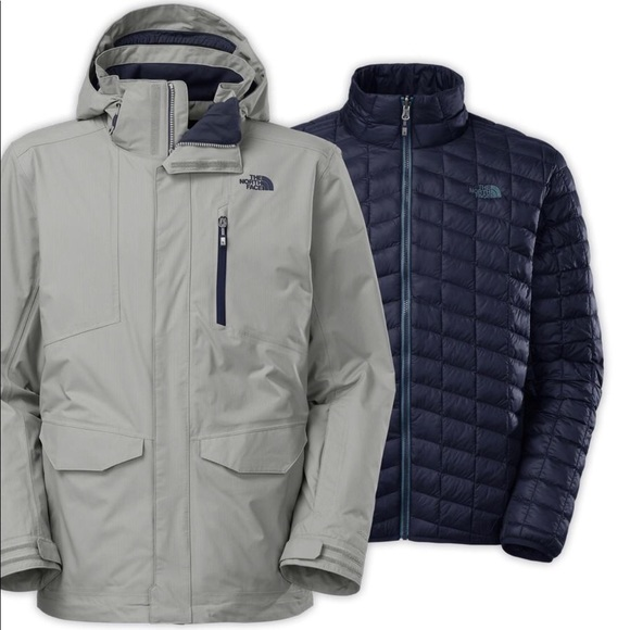 bc8236fa1 The North Face SKI Thermoball Snow Triclimate Coat